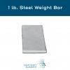 Steel Weight Bar 1 lb. Steel Weight Bar