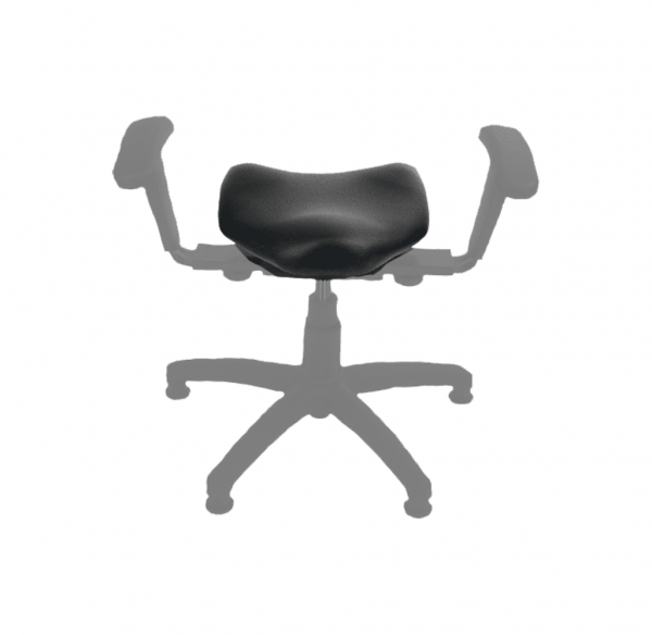 Replacement Seat Pad for the Therapeutic Wobble Chair with seat highlighted
